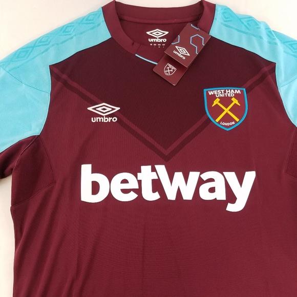 Umbro West Ham United London Soccer Jersey Large 47c4fe0c3